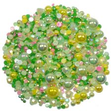 'WILD MEADOW' Theme Rhinestone and Pearl Embellishment Pack